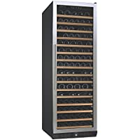 (DR) NFINITY PRO L RED 166-Bottles Wine Cellar, Wine Cellar w/ Stainless Steel Door (S1011)