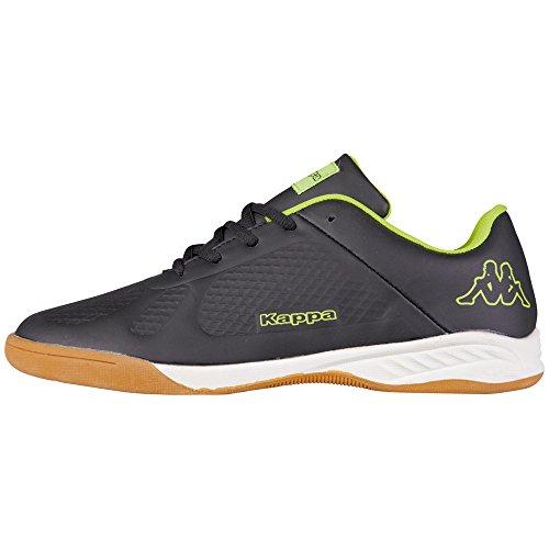 Kappa VYPER Unisex-Kinder Sneakers Schwarz (1140 black/yellow)