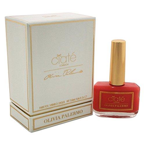 Ciate London Olivia Palermo Nantucket Nail Polish for Women, My Haute Vacation Coral, 0.46 - Palermo Olivia