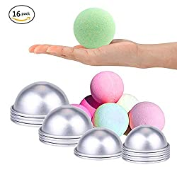 Fightsong DIY Metal Bath Bomb Mold Semi-Circle Sha