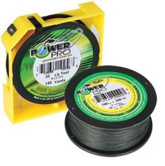 Power Pro 100Lbx500Yd Green PP Braid 100-500-G ()
