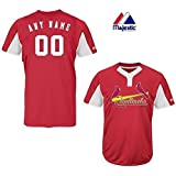 752a81a60 Amazon.com   St. Louis Cardinals Full-Button CUSTOM or BLANK BACK ...
