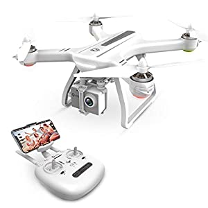Holy Stone HS700 FPV Drone with 1080p HD Camera Live Video and GPS Return Home RC Quadcopter for Adults Beginners with Brushless Motor, Follow Me,5G WiFi Transmission,Compatible with GoPro,Color White from Holy Stone