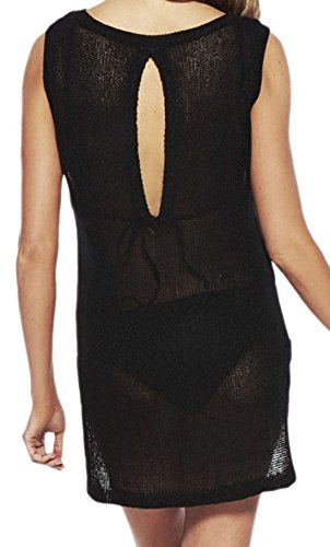 Zauberkirschen - Camisas - Túnica - Sin mangas - Transparente - para mujer negro talla única
