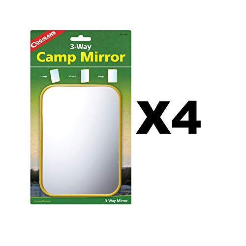 Coghlans Camping Mirror - Coghlan'S Camping Mirror 5 In. X 7 In.