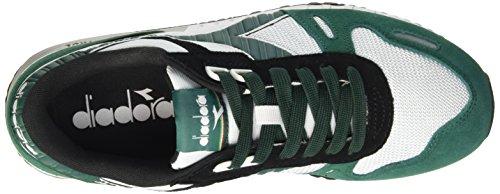 Diadora Titan II - Pompes à Plateforme Plate Mixte Adulte Multicolore (C6113 Verde Galapagos/Nero)