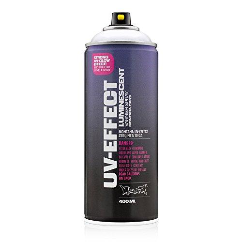 Montana Night Light - Montana UV Effect Luminescent Transparent Varnish Spray Paint, 400ml can