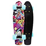 Penny Nickel Graphic Complete Skateboard (TV VANDAL, 22