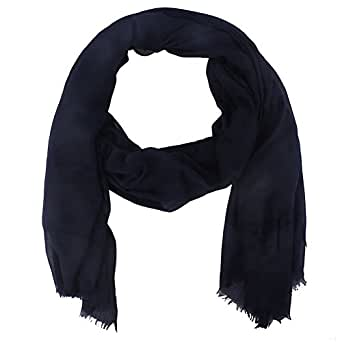 Paladoo Solid Color Scarfs for Women Long Scarf Beach Wrap Shawls Navy
