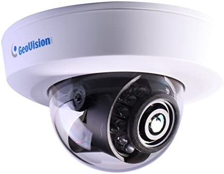 GeoVision GV-EFD4700-0F 4MP H.265 Super Low Lux WDR Pro IR Mini Fixed IP Dome – 2.8mm
