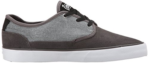 C1rca Mens Essential Skate Shoe Dark Gull / Nero / Bianco