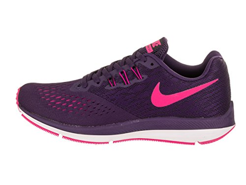 NIKE Womens Zoom Winflo 4 Running Shoe Ink/Deadly Pink Fire Pink lFZMn22BW