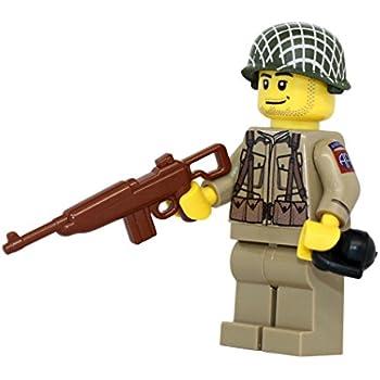 WW2 CUSTOM US 82nd All American Rifleman MINI FIGURES