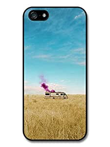 Wholesale diy case Accessories Breaking Bad Heisenberg Cooking Meth in the Van in a Field case for iPhone 5 5S