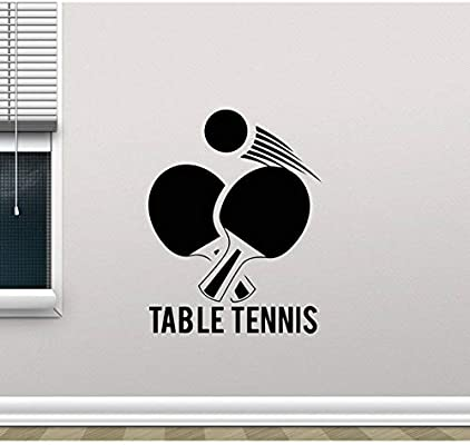 Llzz Wall Sticker Table Tennis Wall Stickers Table Tennis Sports