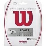 Wilson Synthetic Gut Power 40-Feet Tennis String Set