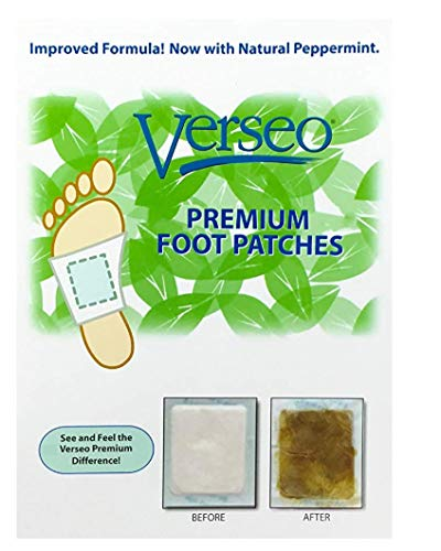 Overnight Cleansing Foot Pads, Tourmaline Pads to Clean and Energize Your Body (10) ()