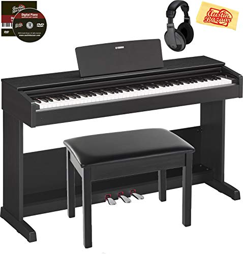 Discover Bargain Yamaha Arius YDP-103 Digital Piano Bundle with Furniture Bench, Headphones, Austin ...