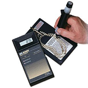 TRI ELECTRONICS GT-4000 GOLD TESTER 6-24 Karat DETECTION, MADE IN THE USA, FREE Jewelers Supermarket Cloth INCLUDED!