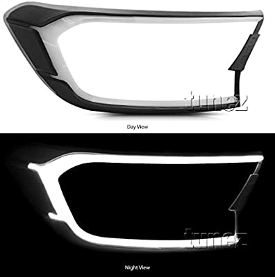 Tunez Guia de cabeza LED blanca para Ranger T6 Mk2 XL XLT DRL coche