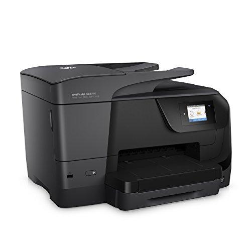 HP 8710 OfficeJet Pro Impresora Multifuncional Todo en Uno de Tinta, Inalámbrica