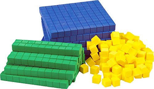 Teacher Created Resources Foam Base Ten Set (20617) (Value Place Cubes)
