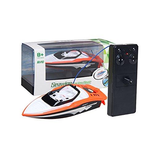 Nitro Speed Boat - Fashionwu RC Boat Create Toys Portable Micro RC Racing Boat Remote Control Speedboat Boy Toy, 3392M