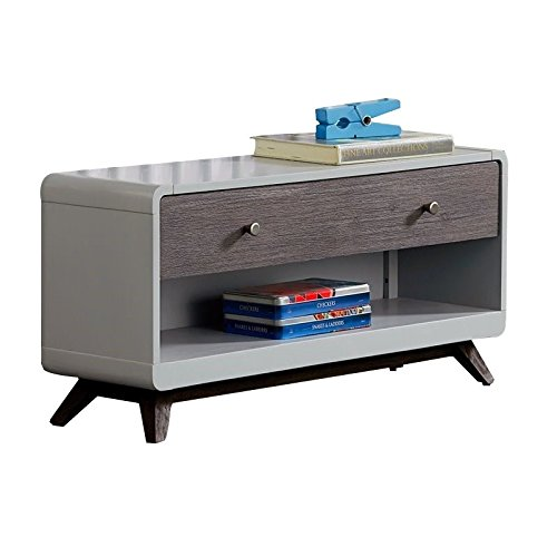 - Hillsdale Kids and Teens 7101-775 Dressing Bench, Gray