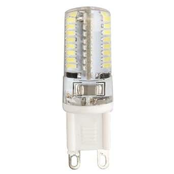 G9 3W 64 LED 3014 SMD Lámpara Bombilla 6500K Luz Blanco