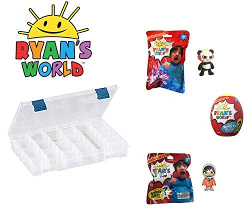 Ryan's World Ultimate Egg Surprise Playset with Storage Case from Ryan's Toy Review -