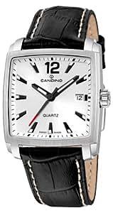 Candino C4372/1 - Reloj para caballero de cuero plata