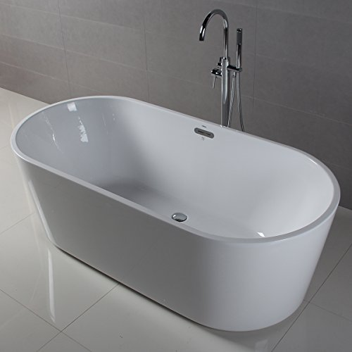 Ferdy Freestanding Bathtub Soaking Bath Tub Stand Alone