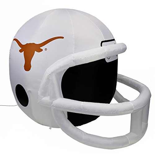 Fabrique Innovations NCAA  Inflatable Lawn Helmet, Texas Longhorns