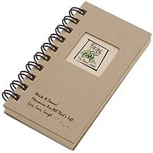 Ciclismo, la revista Bikers–Mini Kraft–Carcasa rígida (prompts en cada página, papel reciclado, Leer más...)