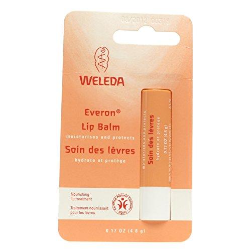 Weleda Everon Lip Balm, 0.17 oz, Case of 6 (Lip Everon Balm)