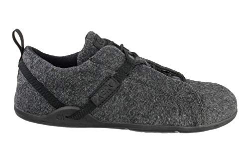 Image of Xero Shoes Pacifica - Men's Minimalist Wool Shoe - Barefoot Inspired, Zero Drop Sole - Charcoal