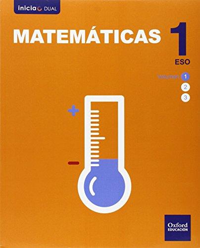 Matemáticas. Libro Del Alumno. ESO 1 (Inicia Dual) - 9788467385830