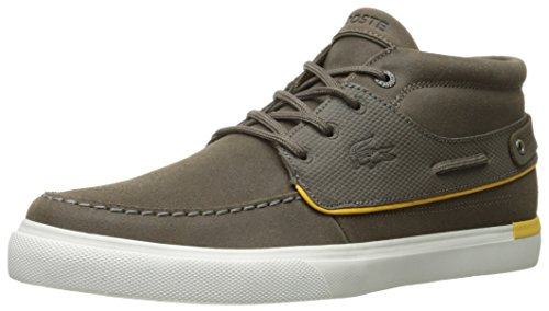 Lacoste Mens Meyssac Deck 116 1 Fashion Sneaker Donkerbruin