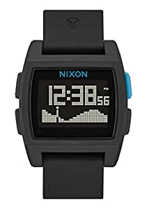 Nixon The Base Tide Watch, Black/Blue, One Size