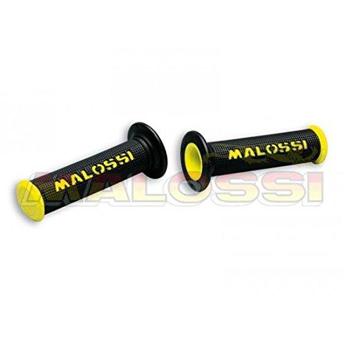 Malossi 871193 Rev/êtements de poign/ée malossi cup noirs//jaunes sans d/écoupe