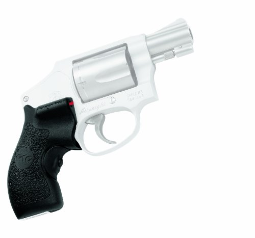 (Crimson Trace LG-105 Lasergrips Red Laser Sight Grips for Smith & Wesson J-Frame (Round Butt) Revolvers)