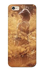 Snap-on Girlforestautumnmood Trees Women Females Redheads Face Plants Case Cover Skin Series Compatible With Iphone 6 Plus