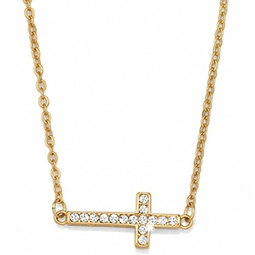 Brighton Starry Night Cross Gold Plated Necklace
