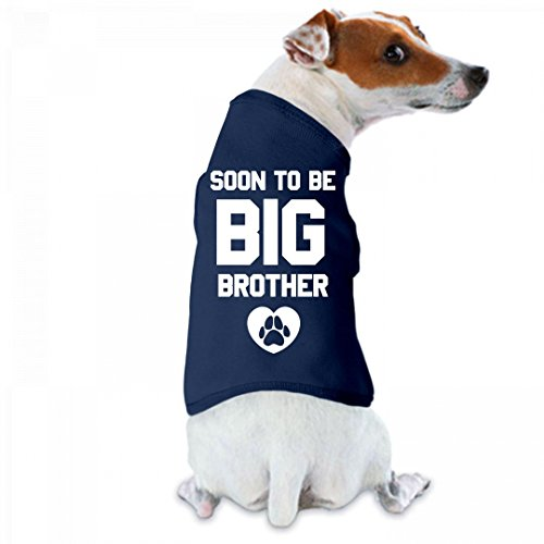 Soon To Be Big Brother Dog Tee: Doggie Skins Dog Tank Top