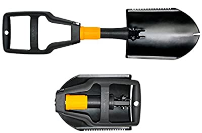 Centurion Survival Shovel - 3 in 1 Folding Camping Shovel Spade Saw Cultivator Fits Perfectly in Your Car, Hiking Bag and Survival Gear