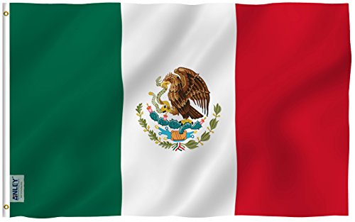 Anley Fly Breeze 3x5 Foot Mexico Flag - Vivid Color and UV F