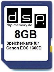 Dsp Memory 8gb Speicherkarte Für Canon Eos 1300d Computer Zubehör