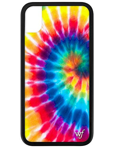 Wildflower Limited Edition iPhone Case for iPhone XR (Spring TIe Dye) (Tye Dye Phone Case)