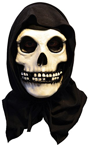 UHC Men's Scary Misfits the Fiend Skeleton Theme Party Latex Halloween Mask ()