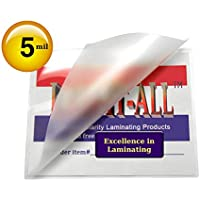 Hot 5 Mil Letter Laminating Pouches 9 X 11-1/2 [Pack of 100] Clear by LAM-IT-ALL